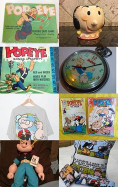 POPEYE POW!!! by loli on Etsy--Pinned with TreasuryPin.com