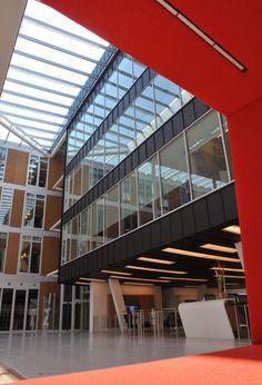 Offices building, Delft (Netherlands) by Red Design Architecten  #zinc #interior #design #architecture #anthra-zinc