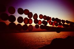 Balloons at sunset (photo by me :-))
