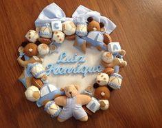 (MO 0205) Guirlanda Maternidade ursinho