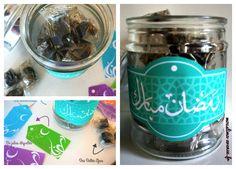 free printable tag ramadan - ramadan diy