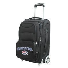 Denco Sports Houston Nylon 21-inch Carry-on Spinner Suitcase