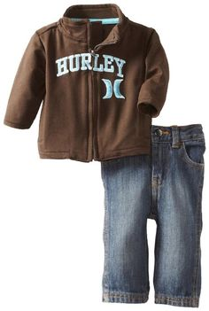 Hurley Baby-Boys Newborn Hurley Jacket: Amazon.com: Clothing