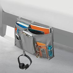 Studio 3B™ Bedside Storage Caddy in Grey