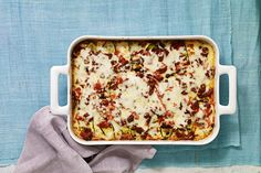 Find the recipe for Noodle-less Zucchini Lasagna and other  recipes at Epicurious.com