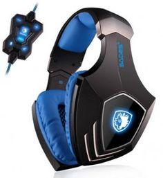 Sades A-60 USB Stereo Headphone Gaming Headset