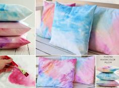 Watercolour Fabric Tutorial