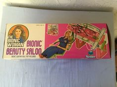 Jaime Sommers The Bionic Woman Bionic Beauty Salon New In Box Kenner 1976