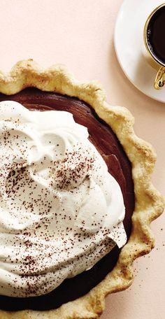 Spring Sweets: Chocolate Cream Pie Recipe