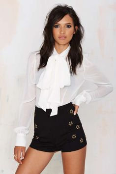 Native Rose Stevie Nicks Studded Shorts | Shop Clothes at Nasty Gal!