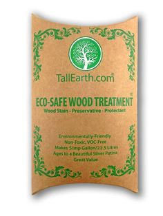 ECO-SAFE Wood Treatment - Stain & Preservative by Tall Earth - 5 Gallon Size - Non-Toxic/ VOC Free/ Natural Source - - Amazon.com