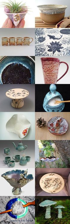 Awesome Handmade pottery by Valerie Miller on Etsy--Pinned with TreasuryPin.com
