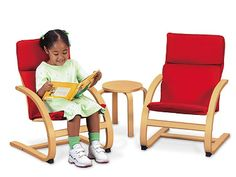Lakeshore's Just-My-Size Furniture Set provides extra-comfortable seating that's a perfect fit for kids!