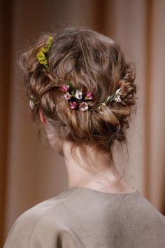 Valentino Haute Couture Spring/Summer 2015, Hair Details