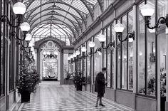 Arcades in Paris