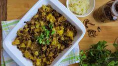 Pravý houbový kuba z brambor s česnekem Potatoes, Beef, Vegan, Cooking, Fit, Cuba, Meat, Kitchen, Shape