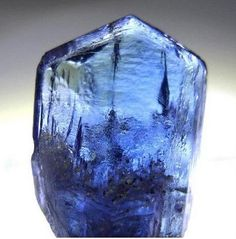 Tanzanite Crystal    Measurements: 18мм x 11мм x 5мм  Collection & Photography: Asya Simanenko  CRYSTALS MINERALS GEMSTONES FOSSILS ROCKS