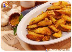 Patate al forno con Rosmarino e Curry