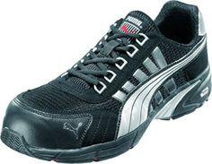 Puma Safety Shoes 47-642530-44, Chaussures de sécurité Adulte Mixte – Noir (Schwarz), 44 EU