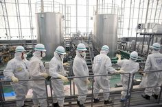 Inspectors urge Japan to dump water from Fukushima plant into ocean. (this is terrifying...)