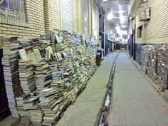 """Alaa Sattar on Twitter: """"In #Iraq, in the book market, books remain in the street at night because Iraqis say: the reader does not steal and the thief does not read https://t.co/iYxfRxAFtG"""""""