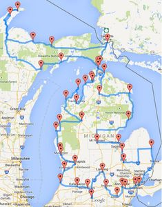 This Is The Ultimate Michigan Road Trip