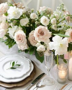 Light and airy flora