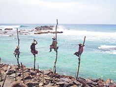 Weligama Sri Lanka fisherman's