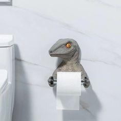 Dinosaur Toilet Paper Holder – The Caveman's Guide