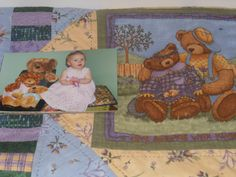 Leecy's quilt for her first birthday!