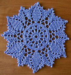 Ravelry: Doily # 8 pattern by Patricia Kristoffersen