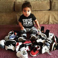 shoes shoelove babyluv nike jordans
