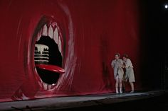 Set & Costume design by John Macfarlane for Hansel and Gretel, Metropolitan Opera,