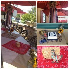 #western themed shower that we threw for my best friend #babyshower #cowboy #country