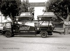 1960s - Cooper Car Co. transporter