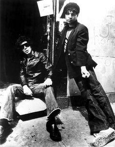 Suicide aka Martin Rev &  Alan Vega