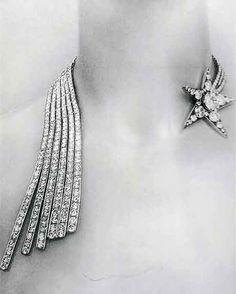 """Chanel 1932 Comète necklace """"Bijoux de Diamants"""""""