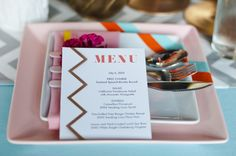 so much color and pattern wrapped into one sweet spot  Photography by brittanylauren.net, Event Design by http://facebook.com/pages/Petra-Kate-Wedding-Design/152940844842394