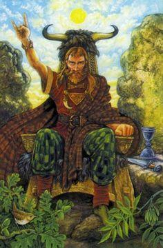 Druidcraft tarot the Hierophant