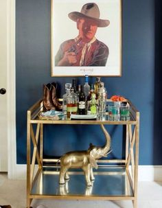 An ultra cool vignette minus the picture of (the notorious alcoholic and racist) John Wayne