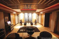 A purpose-built, dedicated listening room. A purpose-built, dedicated listening room. Audiophile Turntable, Hifi Stereo, Hi Fi System, Audio System, Acoustic Room Treatment, Acoustic Diffuser, Sound Room, Chill Room, Audio Room
