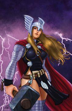 Female Thor!