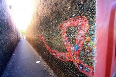 You definitely have a piece of gum on Bubble Gum Alley. | Community Post: 30 Signs You Went To Cal Poly San Luis Obispo