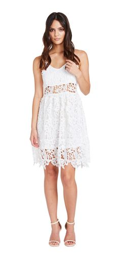 Belle Lace Dress - Miss G Race Day Fashion, Belle Dress, Lace Dresses, Tank Tops, Womens Fashion, Shopping, Beautiful, Style, Swag