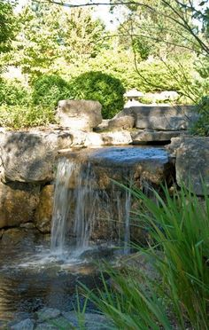 5 Tips You Should Know About Building Ponds – My Best Rock Landscaping Ideas Garden Pond, Garden Art, Garden Design, Waterfall Design, Pond Waterfall, Backyard Water Feature, Ponds Backyard, Water Features In The Garden, Land Scape