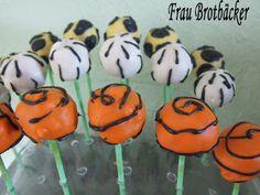 Frau Brotbäcker: Zoo-Tiere Cakepops