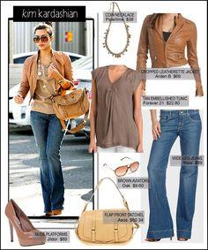 Fashionista 06340: Kim Kardashian-Daily Style