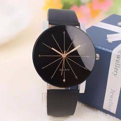 Moda Casual de Los Hombres/de Las Mujeres de Cuarzo Analógico Dial Hora Digital Relojes de Pulsera de Cuero reloj de Mujer reloj de Caja Redonda para Relogio Feminino