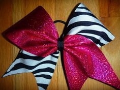 Cheer bow idea  Ridiculous but Marie will need one