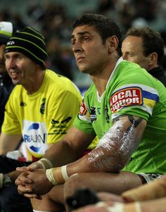 2011 NRL Rd 17 - Roosters v Canberra Raiders - Tom Learoyd Lahrs